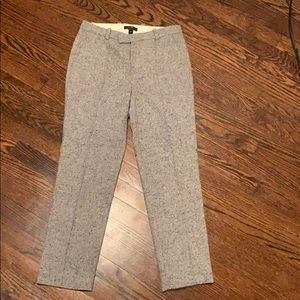 J. crew Tweed Wool Pointe Pants